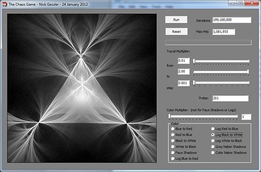 Borland C++ Builder - Fractals & Strange Attractors