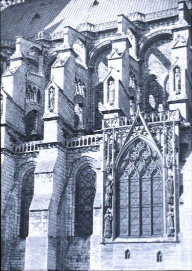 Notre Dame Cathedral Exterior Chartres Cathedral: In...