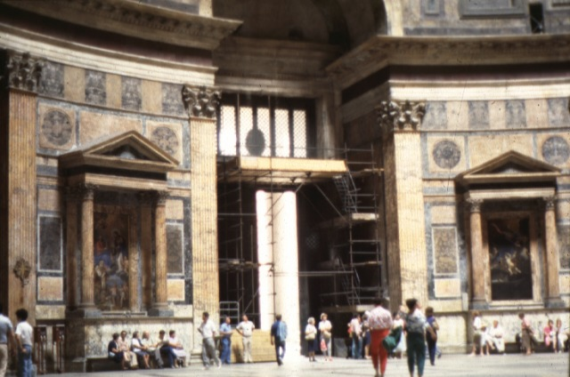 Roman architecture the pantheon for Roman interior designs