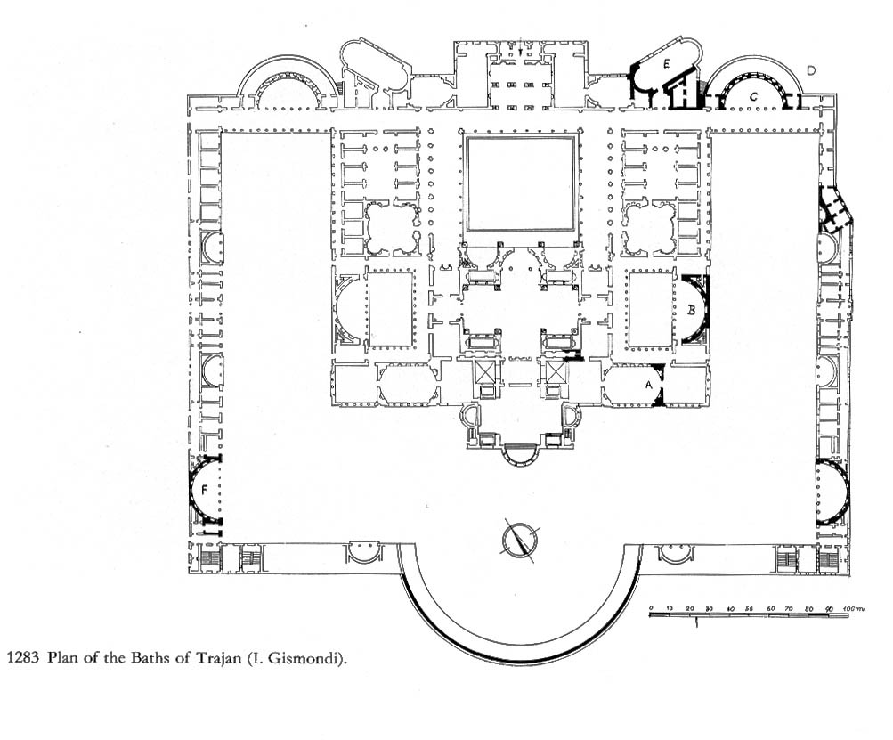 Trajan%20plans on Roman House Floor Plan